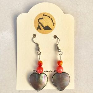 3 pairs for $25/NWT handmade dangling earrings